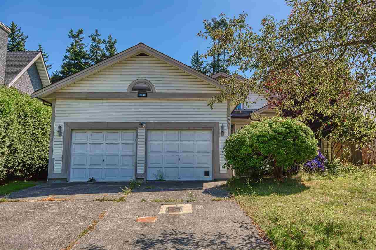 "Main Photo: 2448 127B Street in Surrey: Crescent Bch Ocean Pk. House for sale in ""CEDAR LANE"" (South Surrey White Rock)  : MLS®# R2389465"