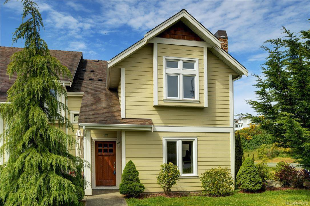 Main Photo: 102 2038 Gatewood Rd in Sooke: Sk Sooke Vill Core Row/Townhouse for sale : MLS®# 841372