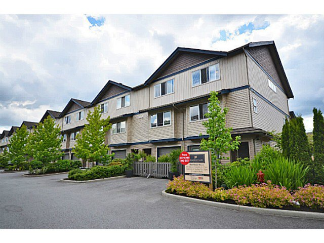 "Main Photo: 1 1268 RIVERSIDE Drive in Port Coquitlam: Riverwood Townhouse for sale in ""SOMERSTON LANE"" : MLS®# V1021881"