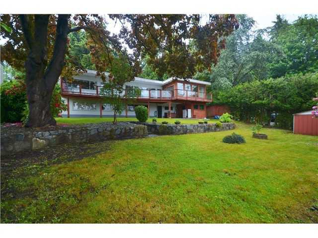 Main Photo: 1360 Queens Avenue in West Vancouver: Ambleside House for sale : MLS®# V1077497