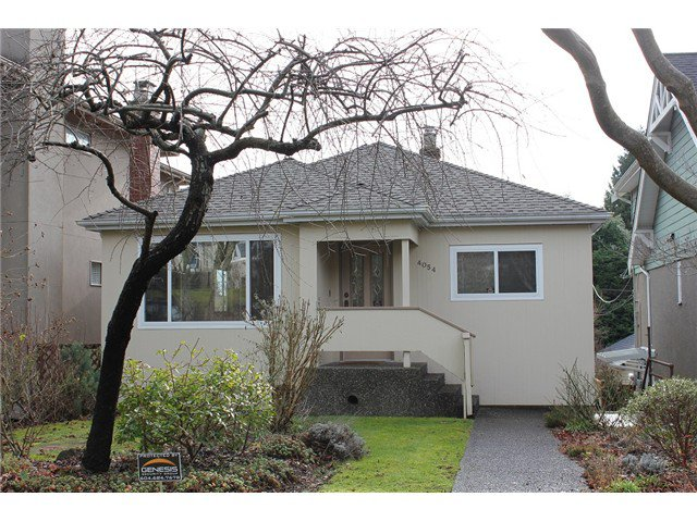 Main Photo: 4054 W 35TH AV in Vancouver: Dunbar House for sale (Vancouver West)  : MLS®# V1104920