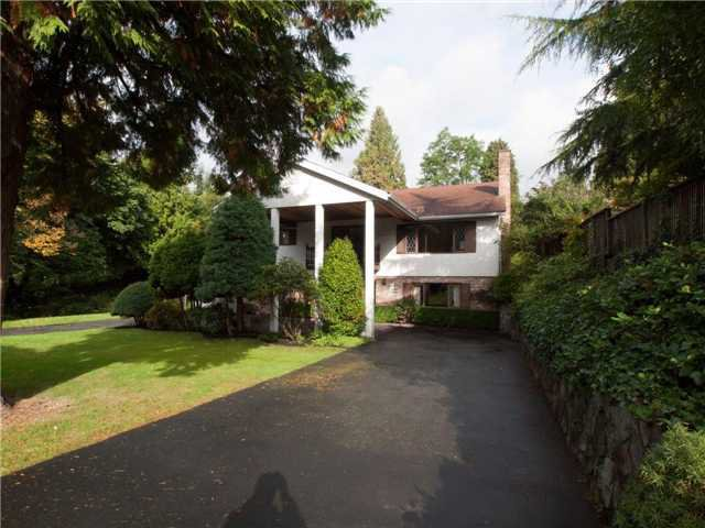 Photo 1: Photos: 1885 Fulton Ave in West Vancouver: House for sale : MLS®# v1013109