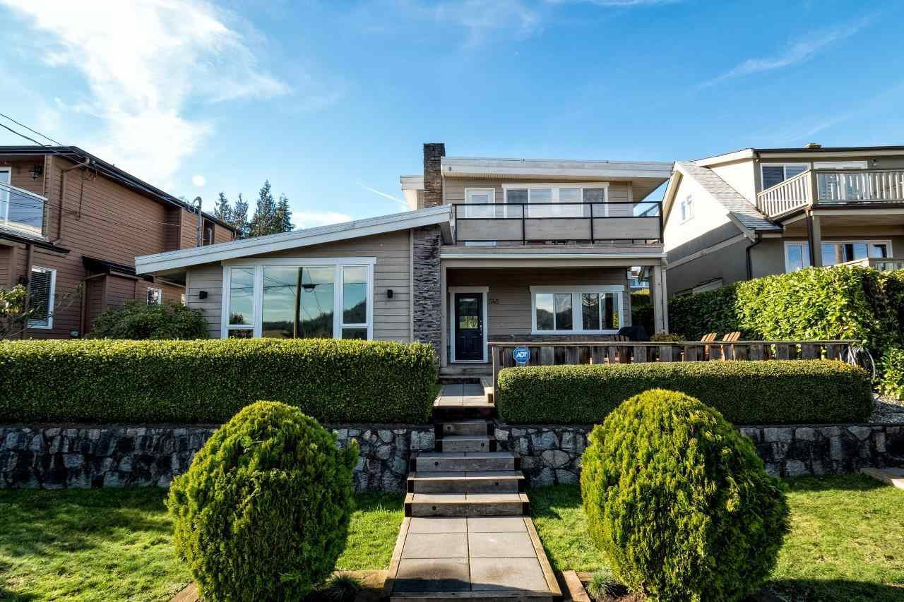Main Photo: 345 BEACHVIEW DRIVE in North Vancouver: Dollarton House for sale : MLS®# R2035403