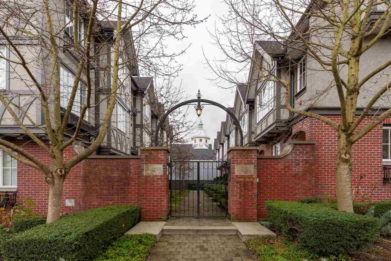 Main Photo: 2648 QUEBEC STREET in Vancouver: Mount Pleasant VE Townhouse for sale (Vancouver East)  : MLS®# R2335908