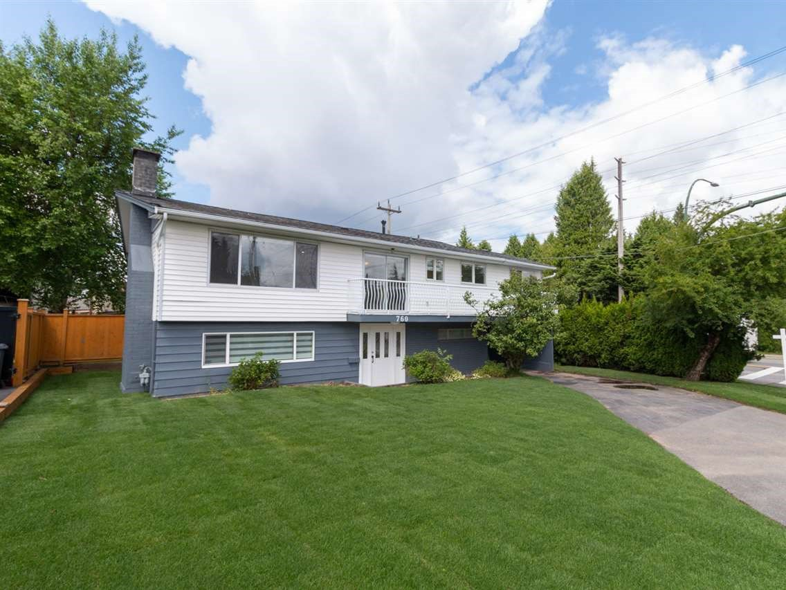 Main Photo: 760 PORTER Street in Coquitlam: Central Coquitlam House for sale : MLS®# R2460192