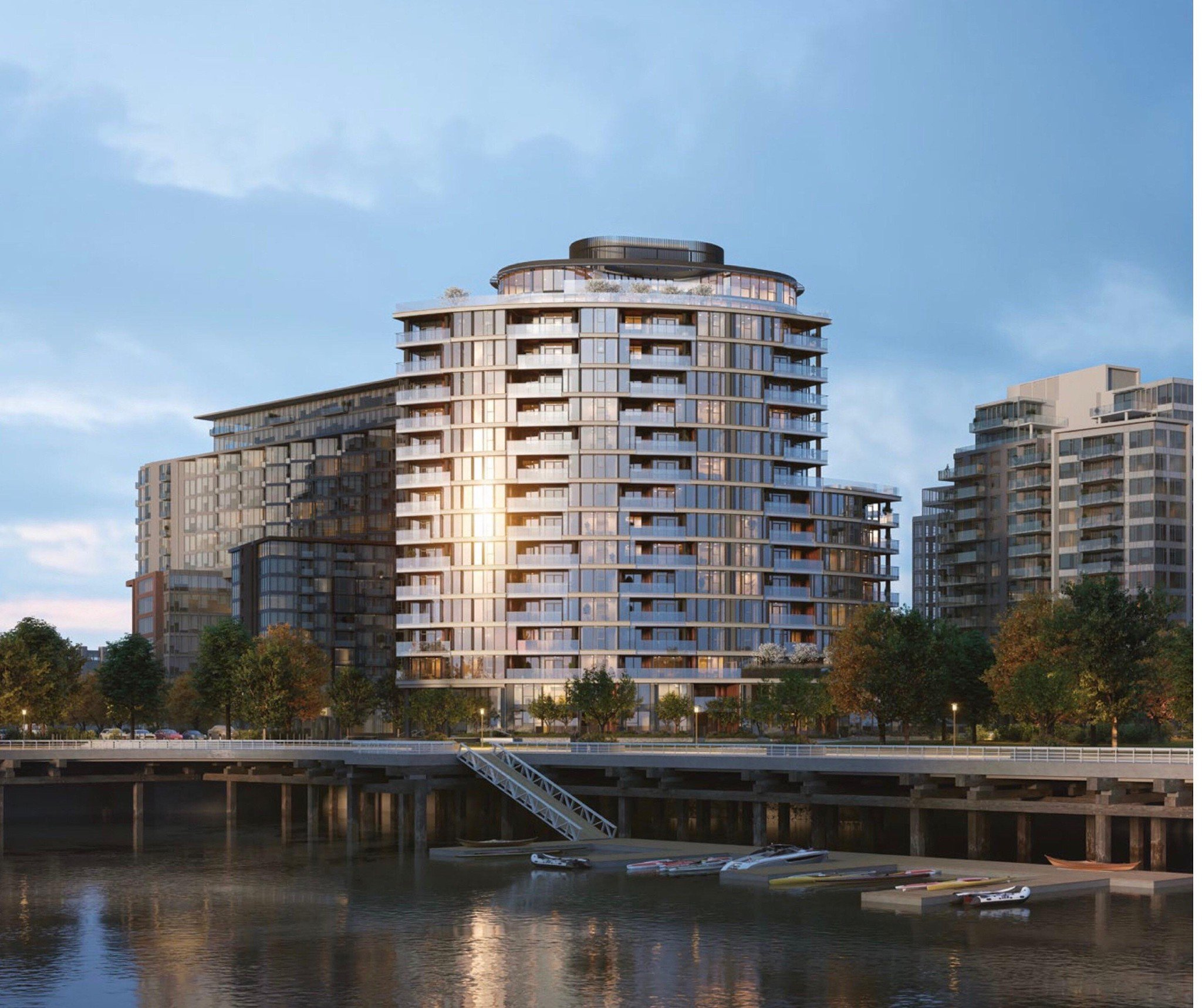Main Photo:  in vancouver: False Creek Condo for sale (Vancouver West)