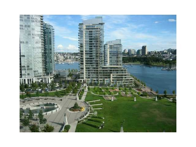 Main Photo: 1501 638 BEACH Crescent in VANCOUVER: Yaletown Condo for sale (Vancouver West)  : MLS®# V1074248