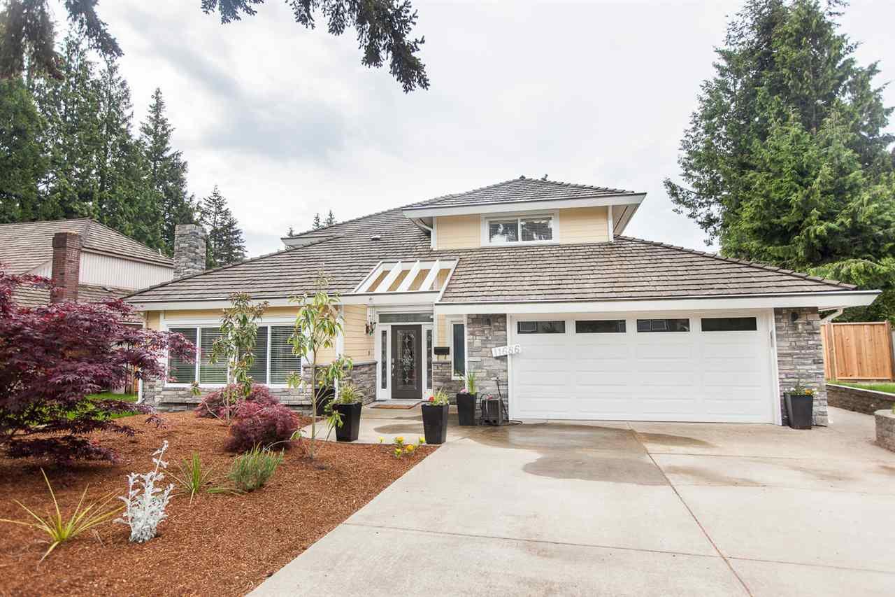 Main Photo: 11686 SUMMIT CRESCENT in Delta: Sunshine Hills Woods House for sale (N. Delta)  : MLS®# R2062602