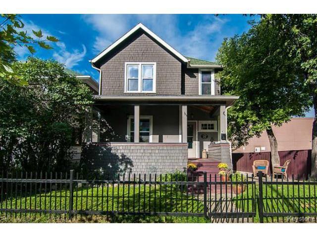 Main Photo: 542 Camden Place in Winnipeg: Wolseley Single Family Detached for sale (Winnipeg area)  : MLS®# 1501881