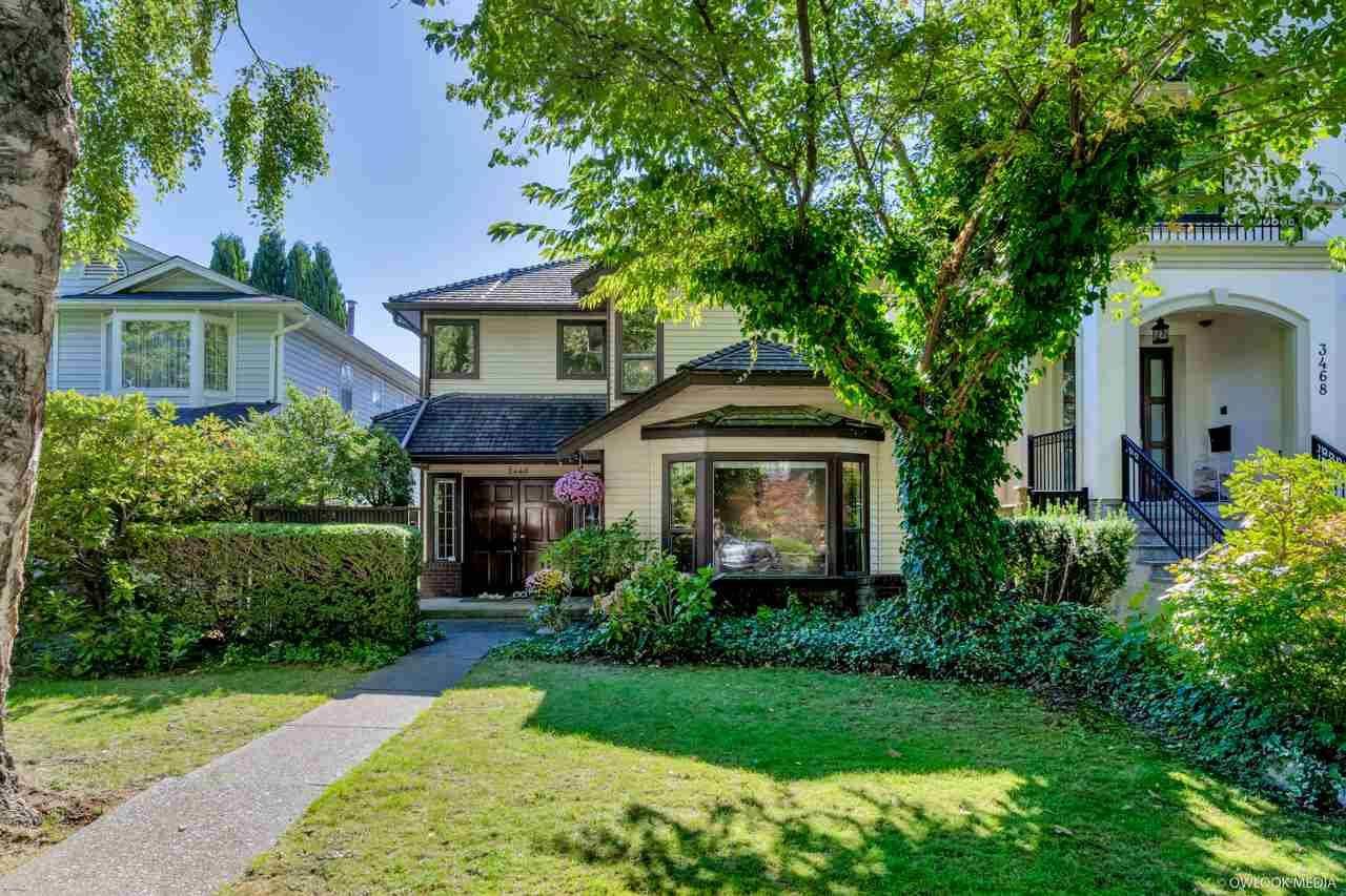 Main Photo: 3460 W 26TH Avenue in Vancouver: Dunbar House for sale (Vancouver West)  : MLS®# R2502862