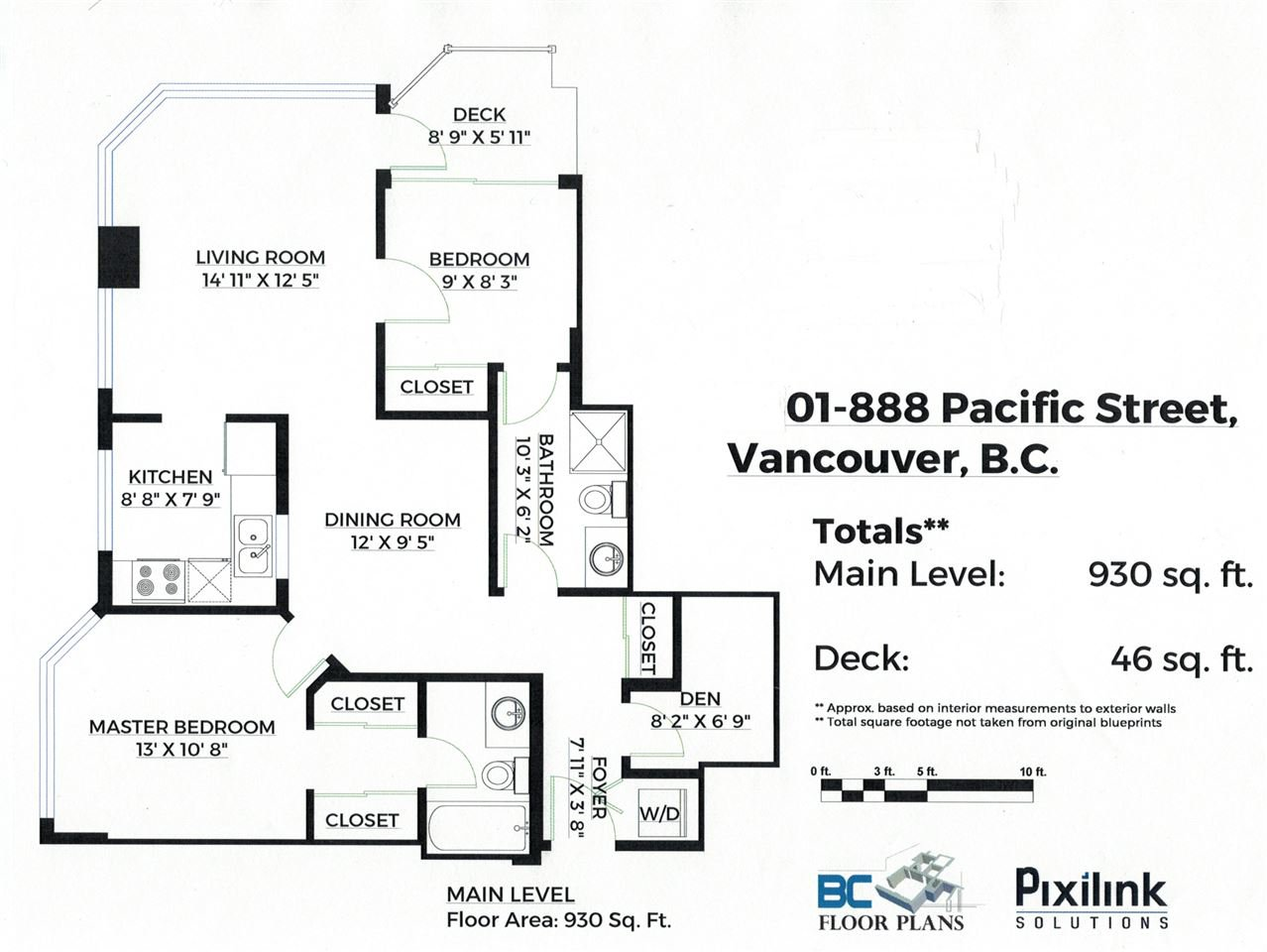 Main Photo: 901 888 PACIFIC STREET in Vancouver: Yaletown Condo for sale (Vancouver West)  : MLS®# R2509472