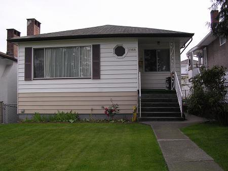 Main Photo: 2968 E 41ST AVE.: House for sale (Killarney VE)