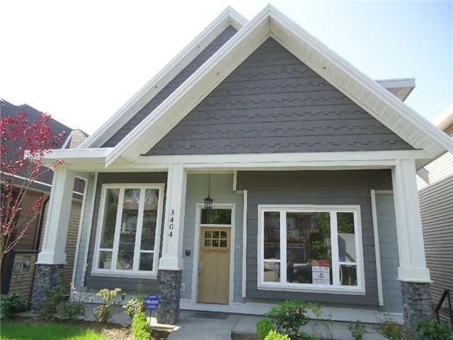 Main Photo: 3426 GISLASON AV in Coquitlam: Burke Mountain House for sale : MLS®# V997090