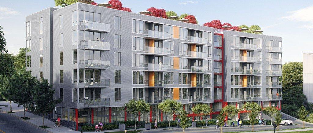 Main Photo: 708 396 E 1st Avenue in #708-396 E 1st Ave.: False Creek Condo for sale (Vancouver West)  : MLS®# Presale