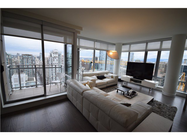 Photo 3: Photos: # 3002 788 RICHARDS ST in Vancouver: Downtown VW Condo for sale (Vancouver West)  : MLS®# V1097730