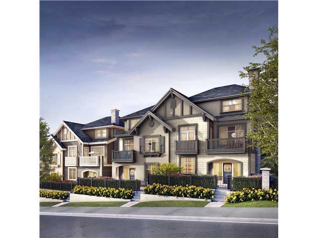 Main Photo: # 44 3400 DEVONSHIRE AV in Coquitlam: Burke Mountain Townhouse for sale : MLS®# V1138831