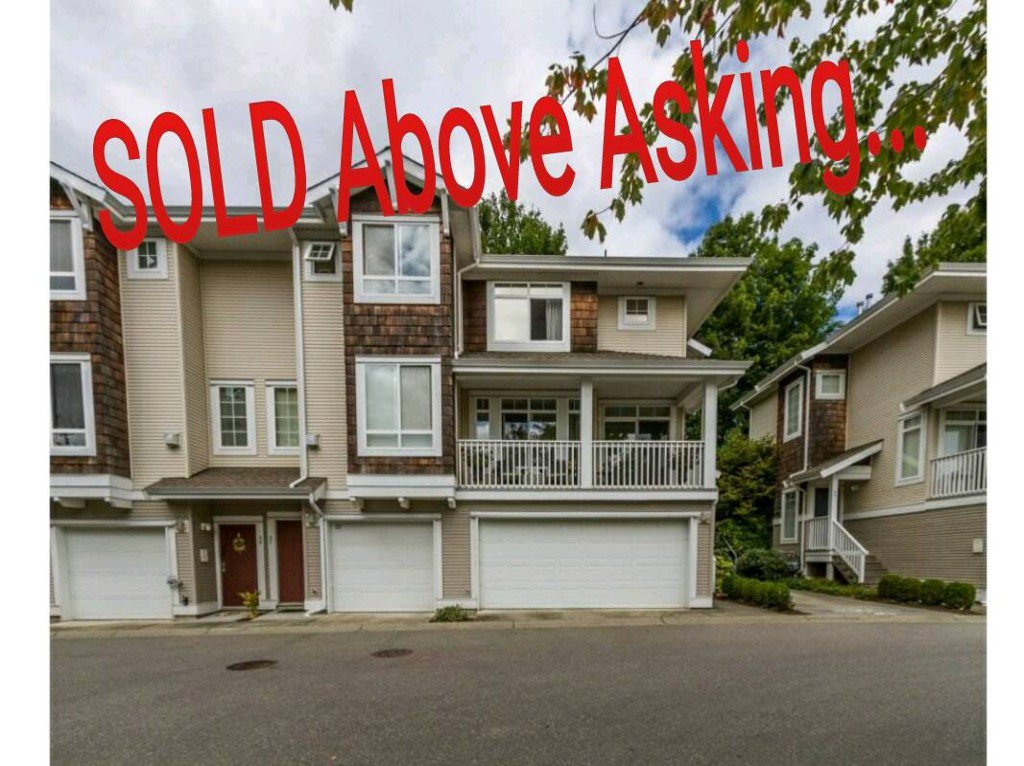 Main Photo: 57 15030 58ave in surrey: Sullivan Station Townhouse for sale (Surrey)  : MLS®# R2103175