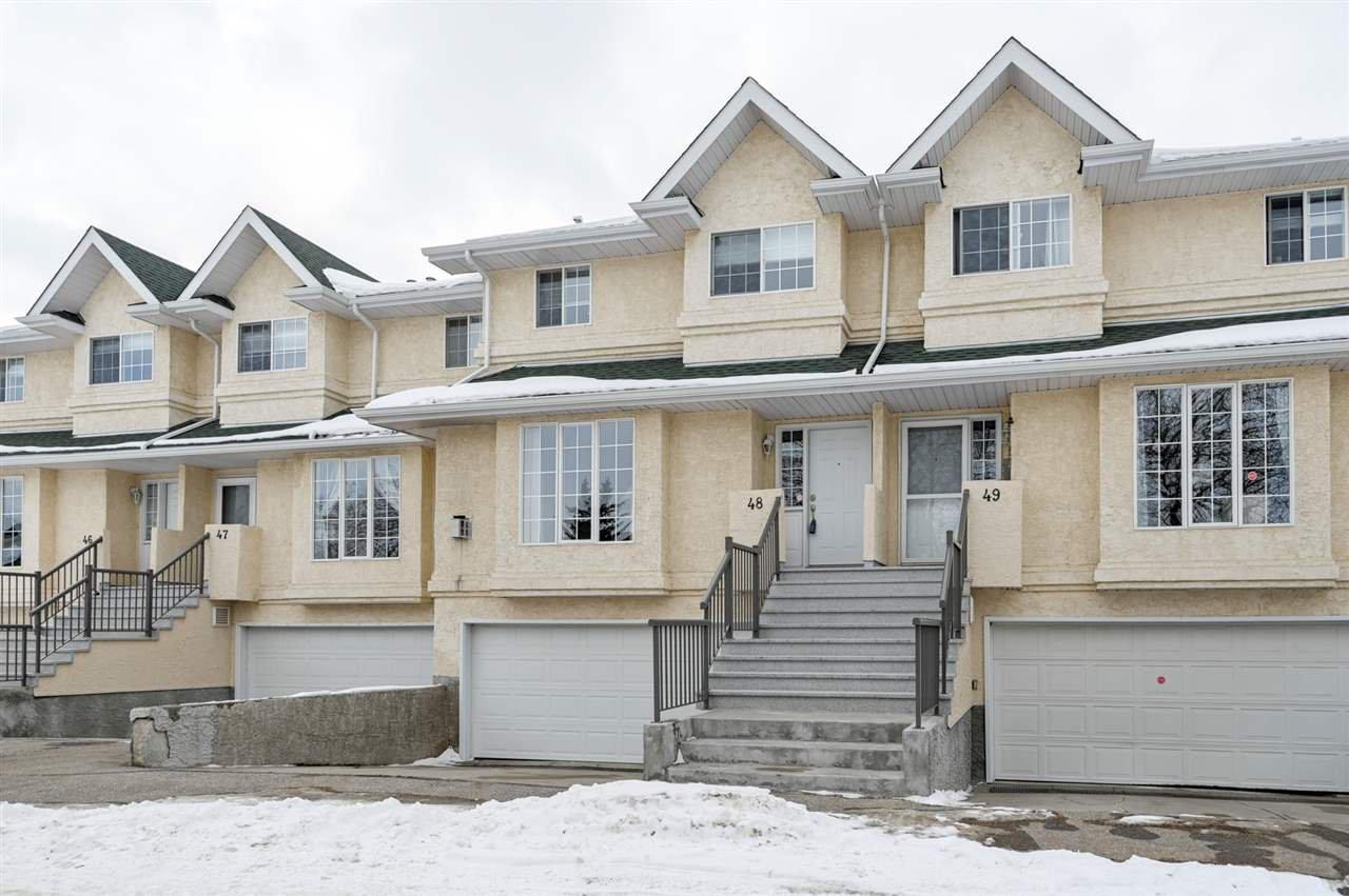 Main Photo: 48 2419 133 Avenue in Edmonton: Zone 35 Townhouse for sale : MLS®# E4191149