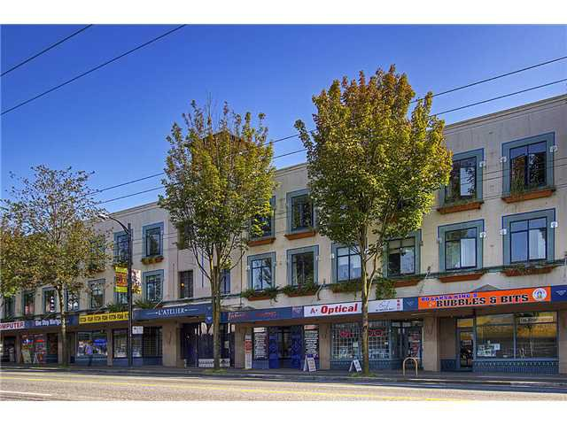"Main Photo: 224 2556 E HASTINGS Street in Vancouver: Renfrew VE Condo for sale in ""L'ATELIER"" (Vancouver East)  : MLS®# V961316"