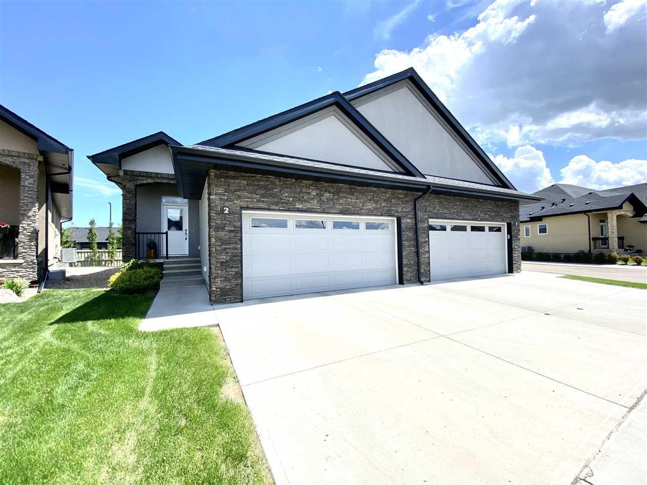 Main Photo: 2 104 ALLARD Link in Edmonton: Zone 55 House Half Duplex for sale : MLS®# E4201408