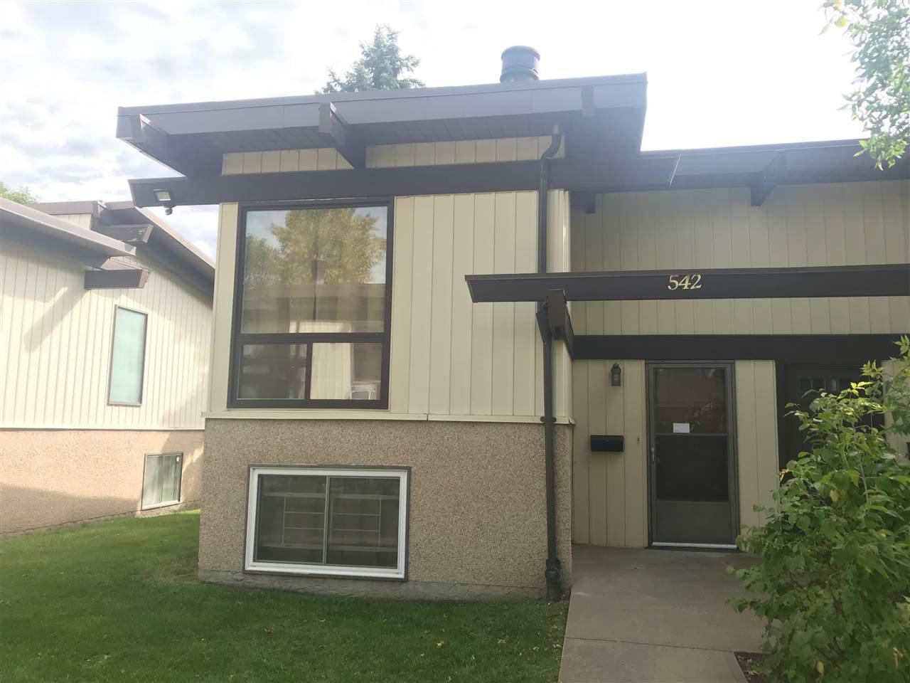 Main Photo: 542 LEE_RIDGE Road in Edmonton: Zone 29 House Half Duplex for sale : MLS®# E4204592
