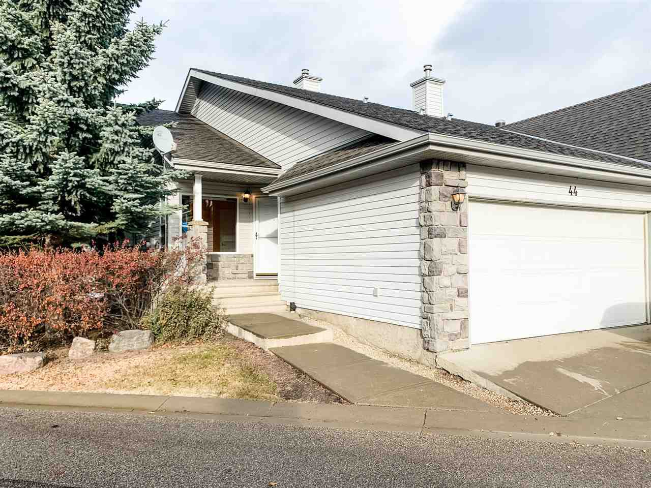 Main Photo: 44 330 Galbraith Close in Edmonton: Zone 58 House Half Duplex for sale : MLS®# E4220364