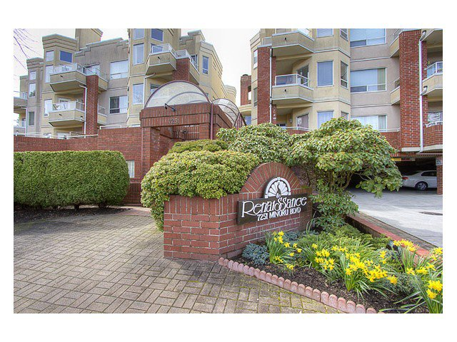 "Main Photo: 120 7251 MINORU Boulevard in Richmond: Brighouse South Condo for sale in ""THE RENAISSANCE"" : MLS®# V1025238"