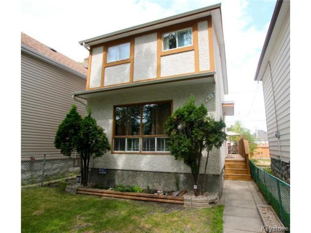 Main Photo: 617 Atlantic Avenue in WINNIPEG: North End Residential for sale (North West Winnipeg)  : MLS®# 1417464