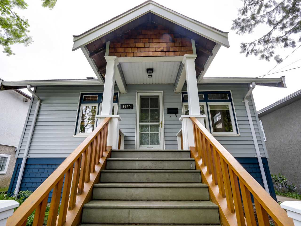 Photo 2: Photos: 1760 E 37TH AVENUE in Vancouver: Victoria VE House for sale (Vancouver East)  : MLS®# R2059026