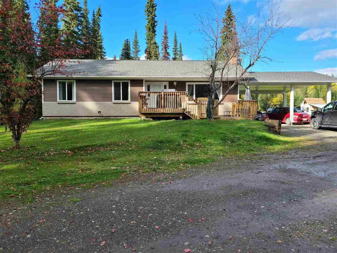 Main Photo: 4400 KNOEDLER Road in Prince George: Hobby Ranches House for sale (PG Rural North (Zone 76))  : MLS®# R2502367