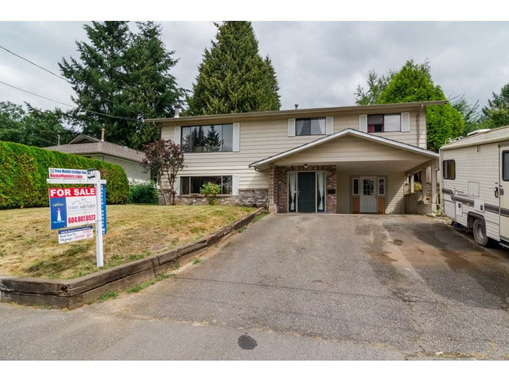 Main Photo: 2424 PARK DRIVE in Abbotsford: House for sale : MLS®# R2100098