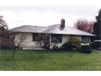 Main Photo: 1709 McRae Ave in VICTORIA: SE Camosun Single Family Detached for sale (Saanich East)  : MLS®# 121658
