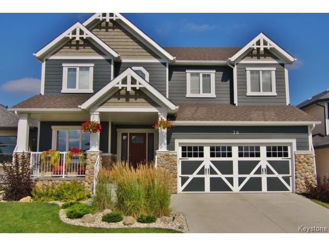 Main Photo: 76 Settlers Road in WINNIPEG: St Vital Residential for sale (South East Winnipeg)  : MLS®# 1310152
