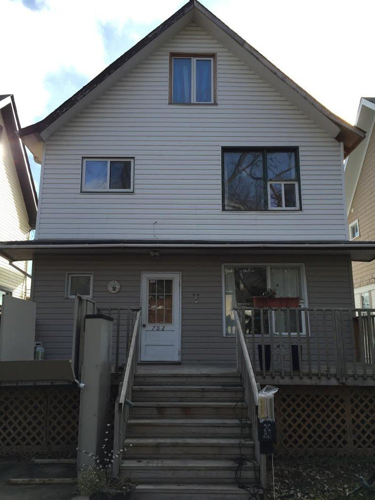 Main Photo: 702 McMIllan Avenue in winnipeg: Fort Rouge / Crescentwood / Riverview Duplex for sale (South Winnipeg)
