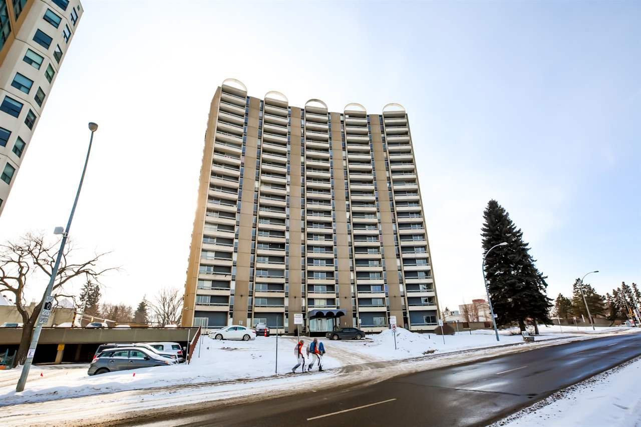 Main Photo: 610 10883 SASKATCHEWAN Drive in Edmonton: Zone 15 Condo for sale : MLS®# E4187986