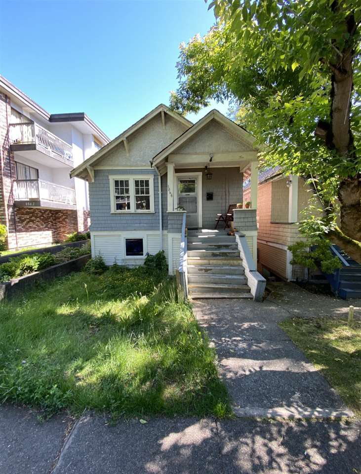 Main Photo: 1546 E 3RD Avenue in Vancouver: Grandview Woodland House for sale (Vancouver East)  : MLS®# R2461134