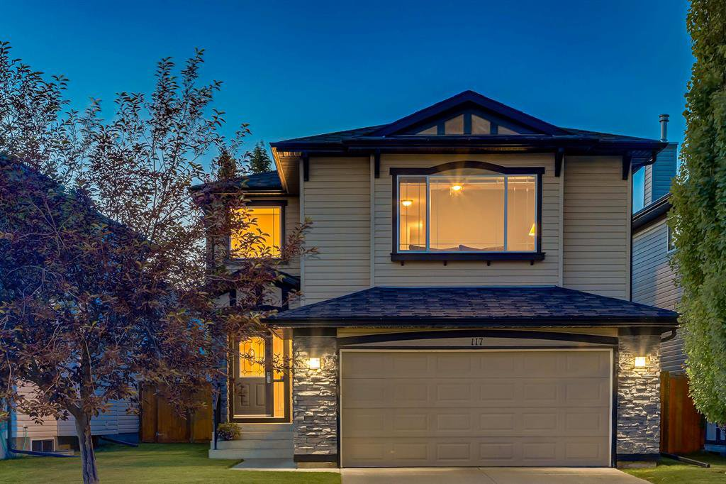 Main Photo: 117 TUSCANY RAVINE Close NW in Calgary: Tuscany Detached for sale : MLS®# A1013900