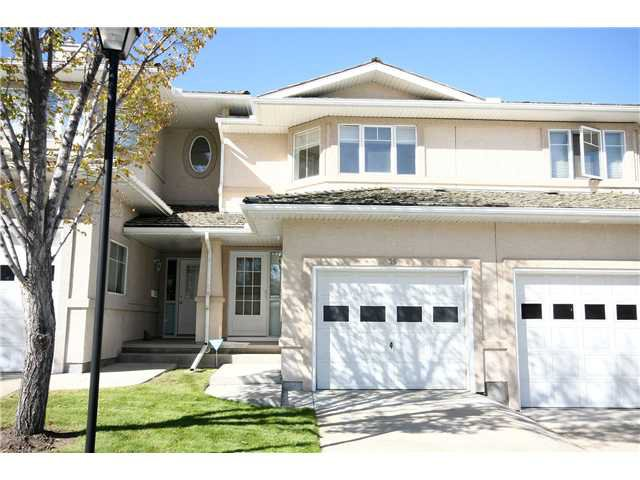Main Photo: 35 EDGERIDGE Terrace NW in CALGARY: Edgemont Townhouse for sale (Calgary)  : MLS®# C3540681