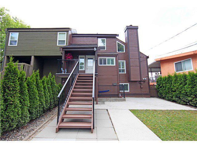 Main Photo: 5611 CLAUDE AV in Burnaby: Burnaby Lake House Duplex for sale (Burnaby South)  : MLS®# V1068608