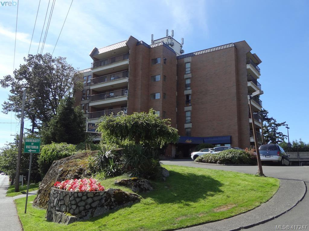 Main Photo: 603 4030 Quadra St in VICTORIA: SE High Quadra Condo Apartment for sale (Saanich East)  : MLS®# 827752