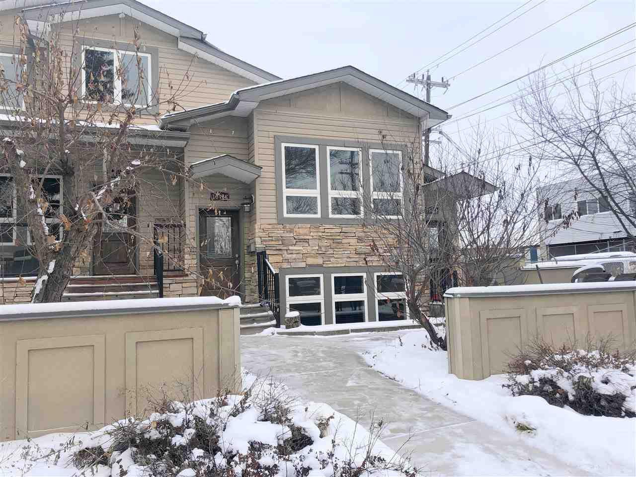 Main Photo: 10416 69 Avenue in Edmonton: Zone 15 Townhouse for sale : MLS®# E4182461