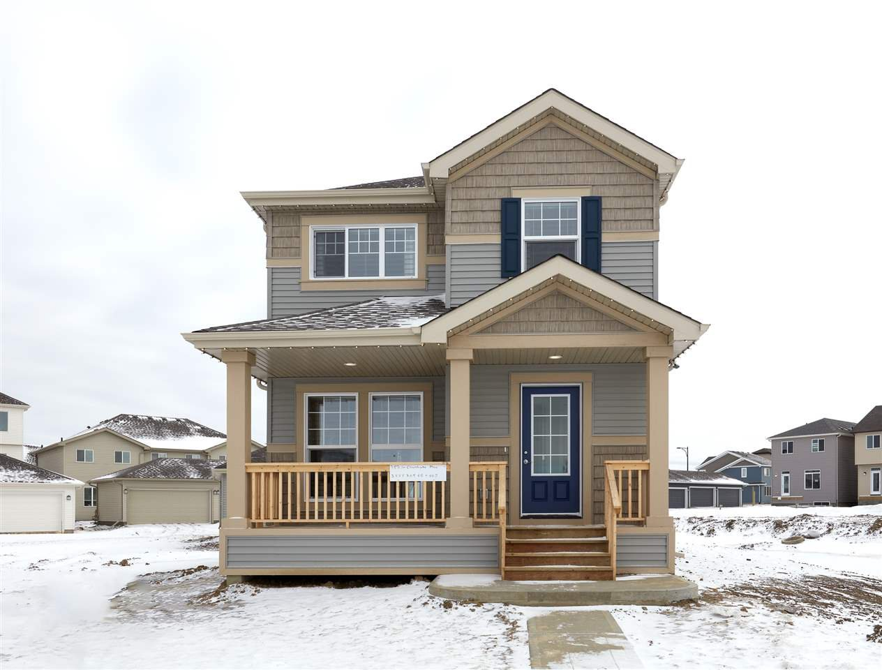 Main Photo: 3821 CHRUSTAWKA Place in Edmonton: Zone 55 House for sale : MLS®# E4185688