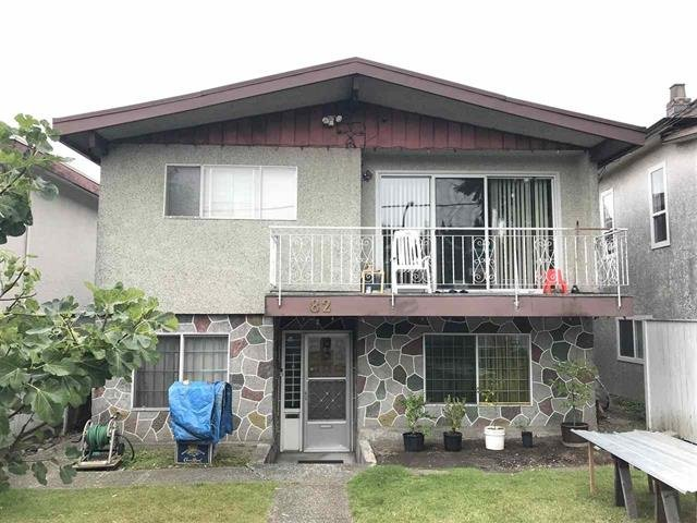 Main Photo: 82 ONTARIO Place in Vancouver: Main House for sale (Vancouver East)  : MLS®# R2501795