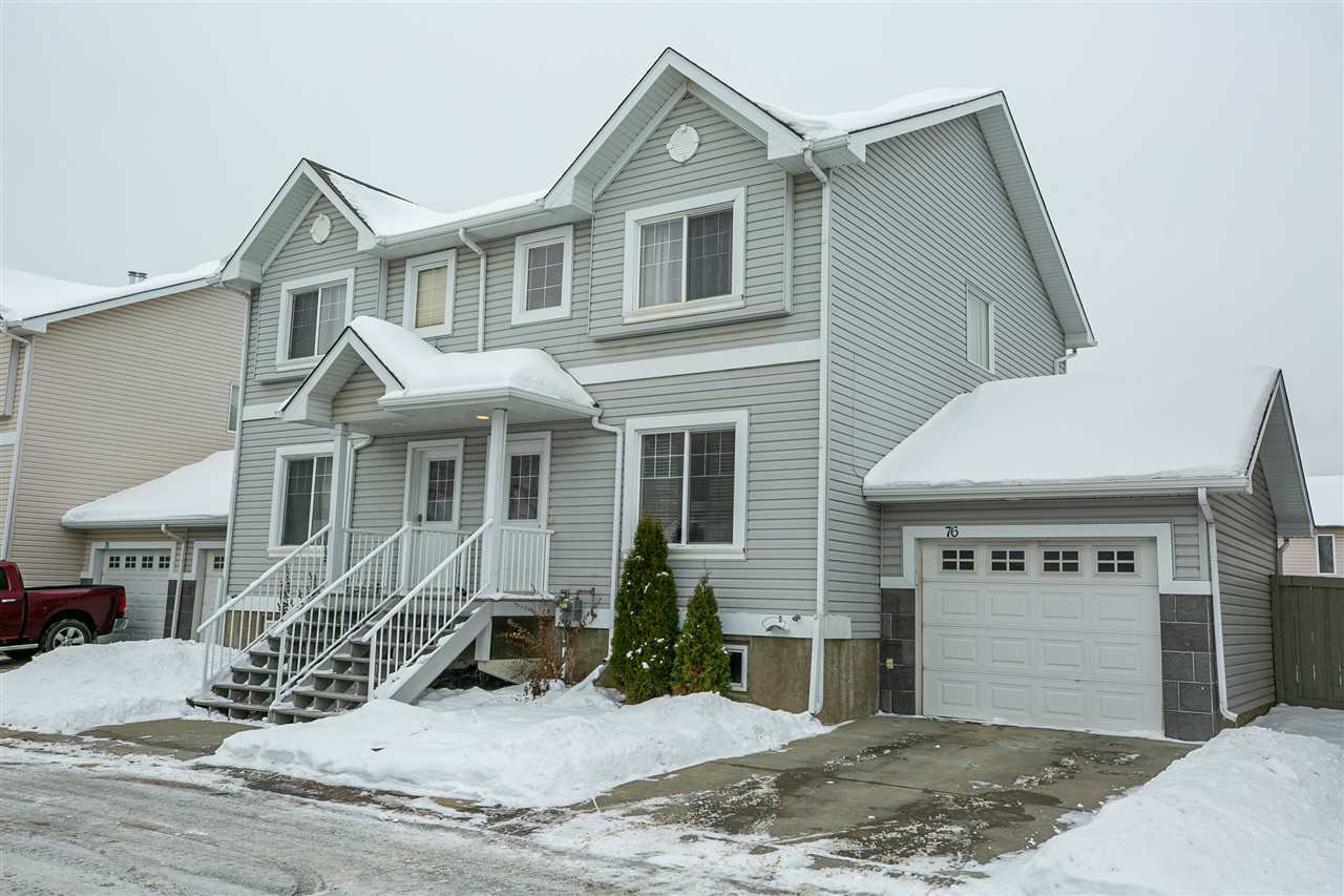 Main Photo: 76 2503 24 Street NW in Edmonton: Zone 30 Townhouse for sale : MLS®# E4221787