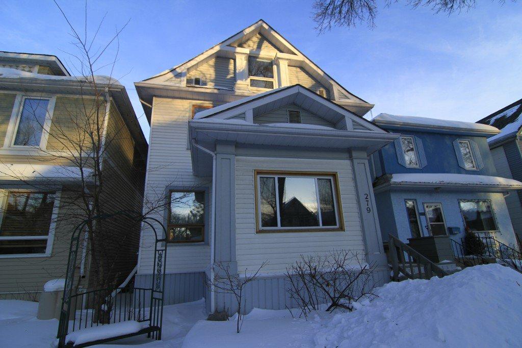Photo 3: Photos: 279 Aubrey Street in Winnipeg: Wolseley Duplex for sale (West Winnipeg)  : MLS®# 1303214