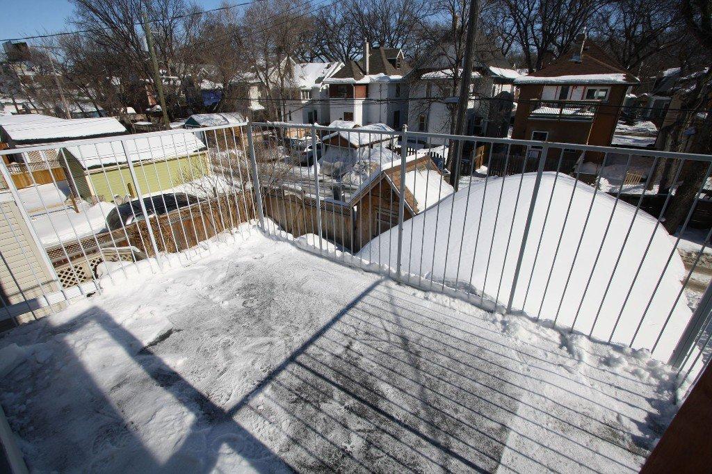 Photo 29: Photos: 279 Aubrey Street in Winnipeg: Wolseley Duplex for sale (West Winnipeg)  : MLS®# 1303214