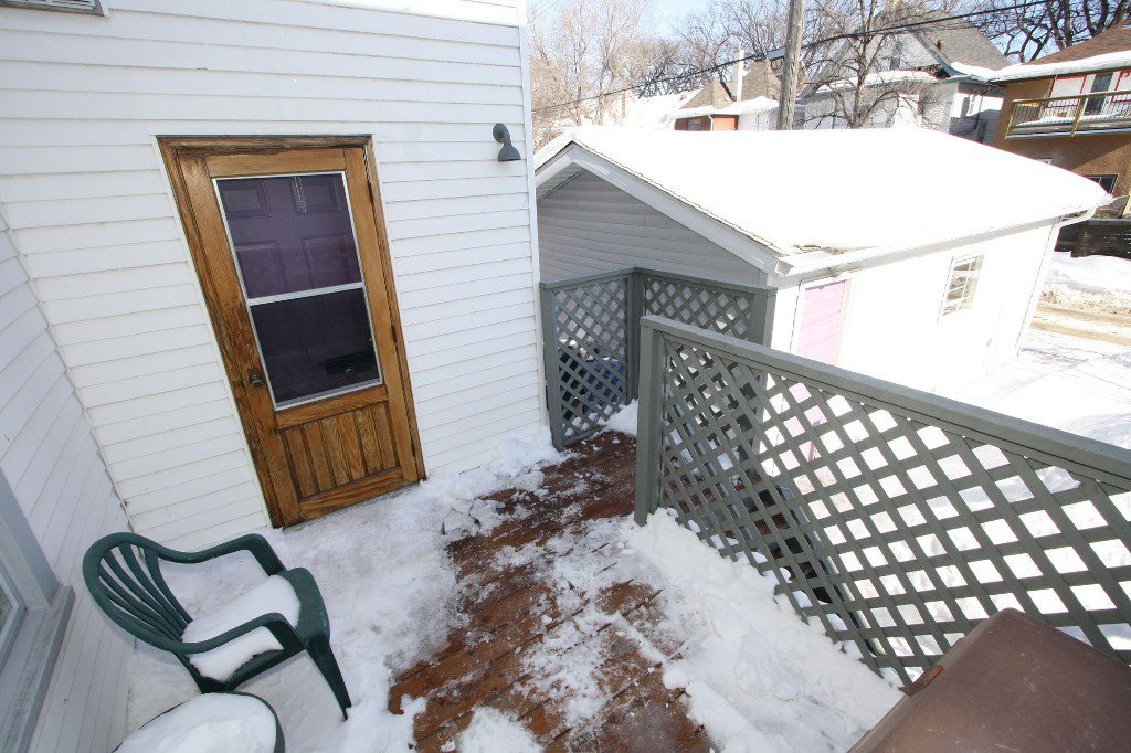 Photo 31: Photos: 279 Aubrey Street in Winnipeg: Wolseley Duplex for sale (West Winnipeg)  : MLS®# 1303214