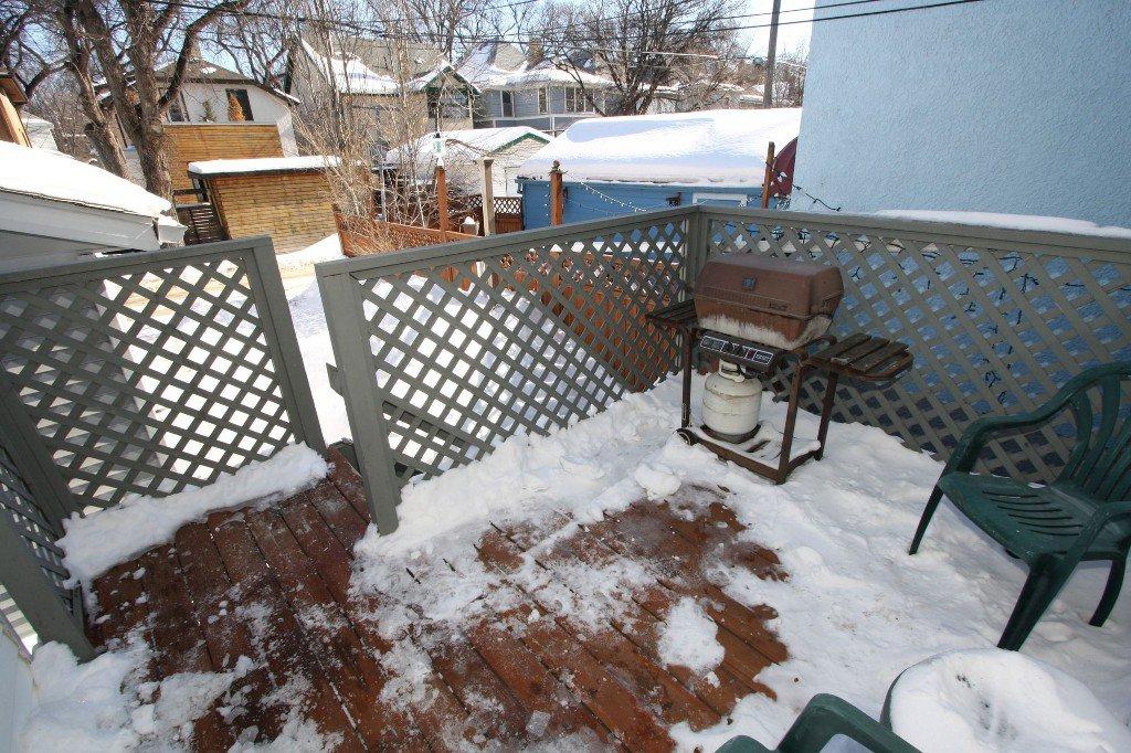 Photo 32: Photos: 279 Aubrey Street in Winnipeg: Wolseley Duplex for sale (West Winnipeg)  : MLS®# 1303214