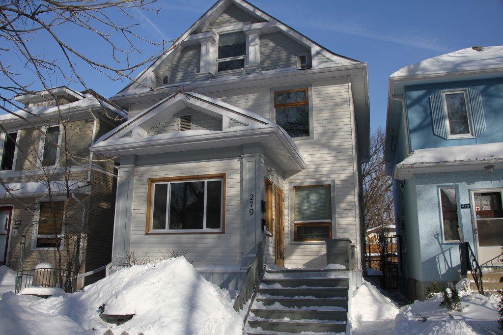 Photo 2: Photos: 279 Aubrey Street in Winnipeg: Wolseley Duplex for sale (West Winnipeg)  : MLS®# 1303214