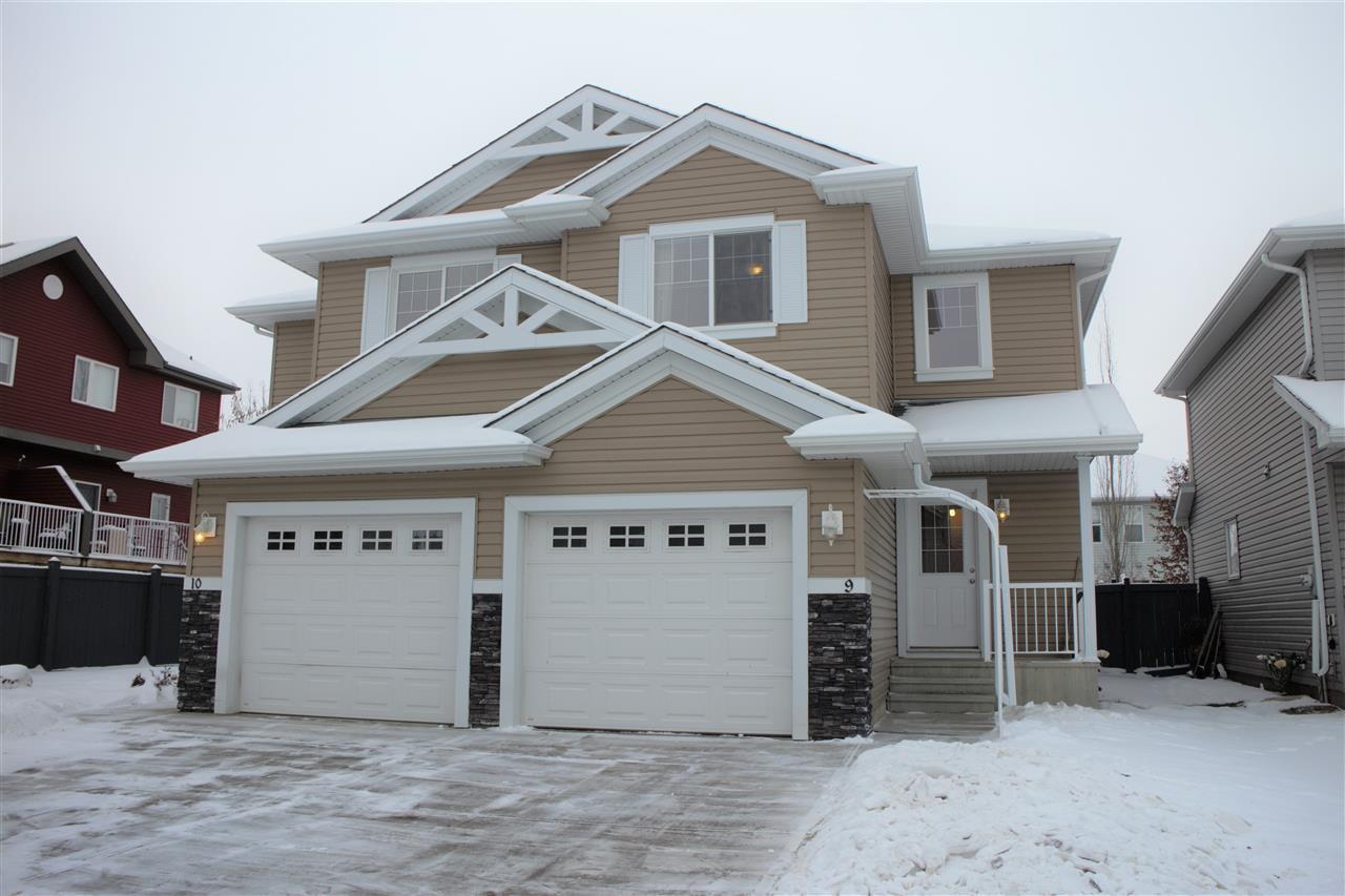 Main Photo: 9 5101 Soleil Boulevard: Beaumont House Half Duplex for sale : MLS®# E4182747